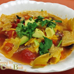 Black Bean and Tortilla Soup Recipe #SCJgreenerchoices