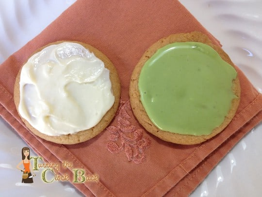 natural green food coloring for cookies