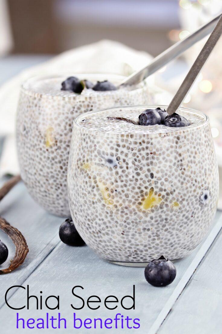 Chia Seed Health Benefits and Basic Chia Seed Pudding Recipe
