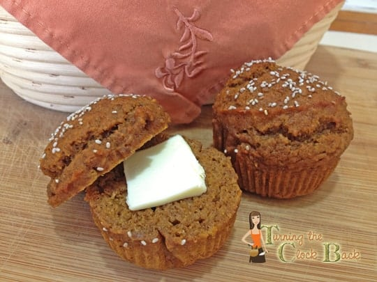 Pumpkin Chia homemade muffins
