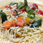 Meatless Monday Recipe: Creamy Pasta Primavera #SCJGreenerChoices