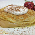 Dessert Crepes Recipe with Cappuccino Filling