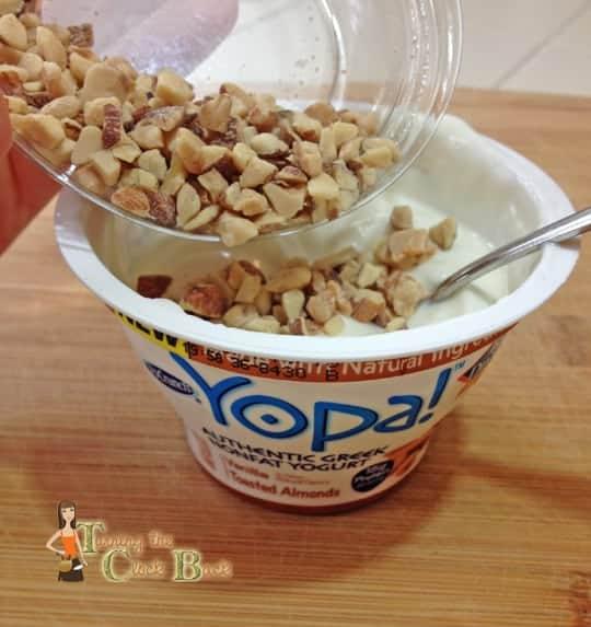 healthy eating with yopa yogurt