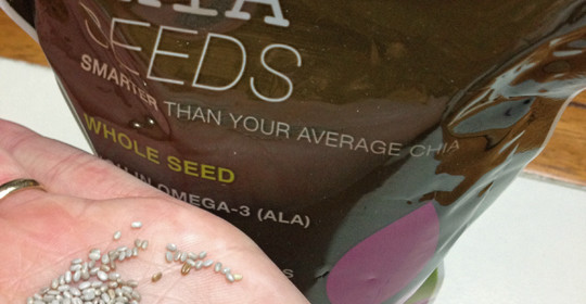Heatlth Benefits of Chia Seeds and a Salba Chia Giveaway