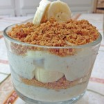 Easy Dessert Recipe: Banana Spice Parfait and a Newman's Own Cookie #Giveaway #spon