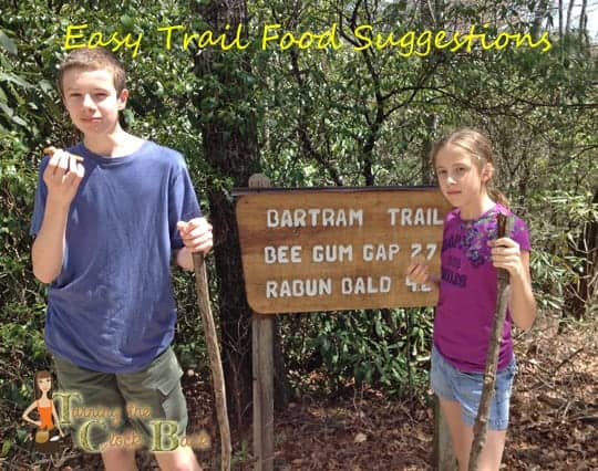 easy trail food suggestions