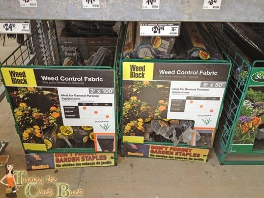 organic gardening weed control