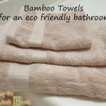 eco friendly bathroom ideas bamboo towels