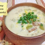 home made corn chowder corn recipe