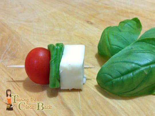 organic garden appetizer