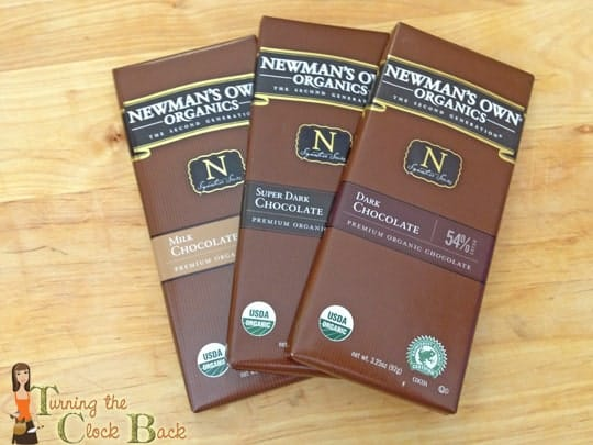 newmans organic chocolate for No Bake Chocolate Cheesecake