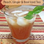Peach Ginger Iced Tea Recipe and Pure Leaf Entertaining Tips  #sponsored