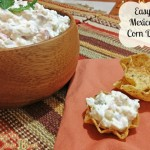 Easy Mexican Corn Dip Recipe with Amaize Sweet Corn