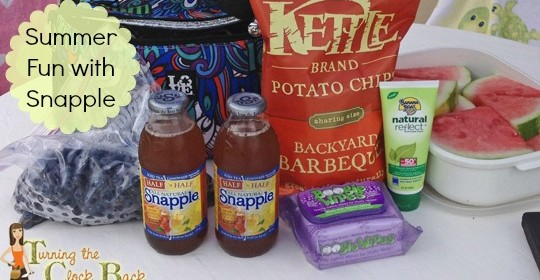 Sun, Swimming, and Summer Fun with Snapple Iced Tea #Snapple5050