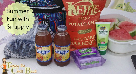 snapple iced tea  #shop 16 edit with banner