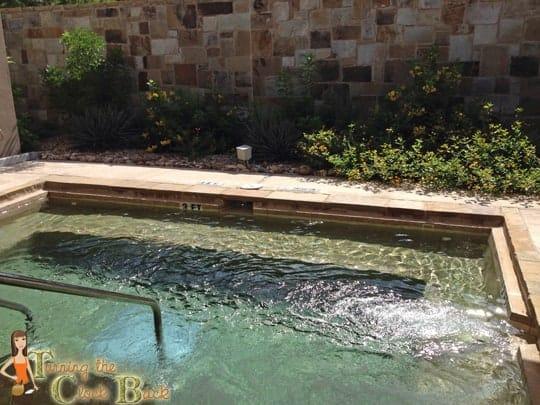 spa hot tub Hyatt Regency Lost Pines