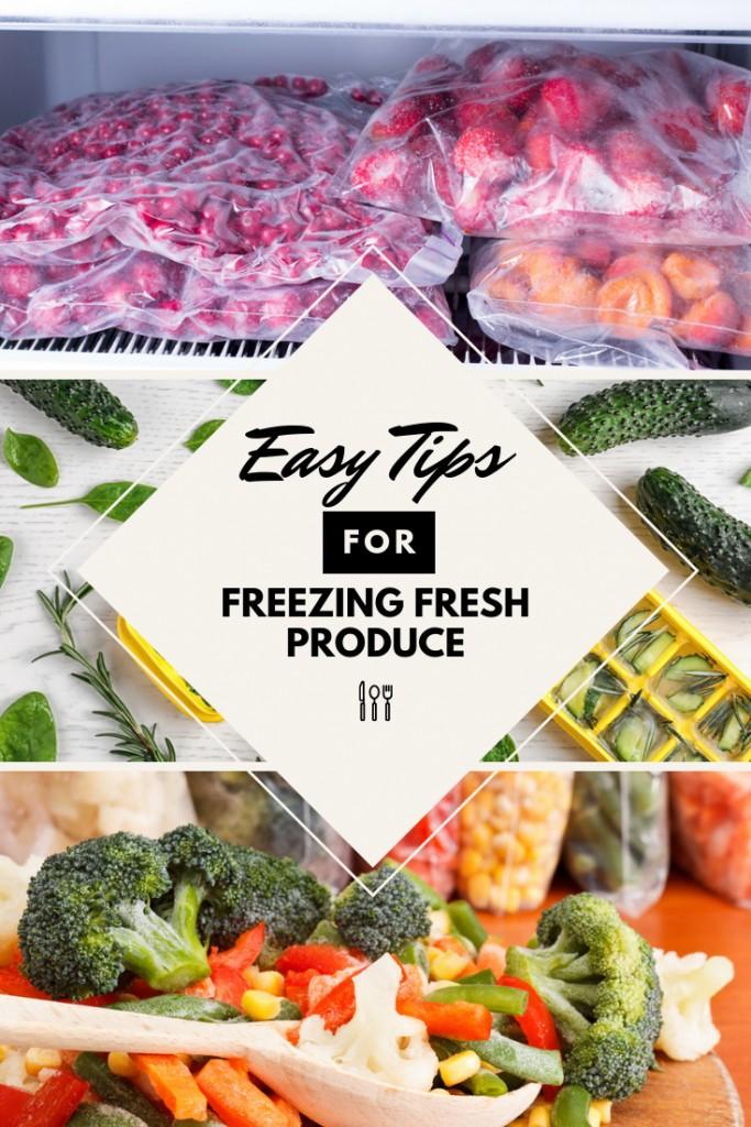 Easy Tips for Freezing Fresh Produce