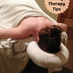 diy massage therapy with banner