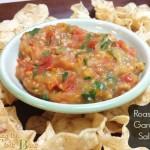 Easy Roasted Garden Salsa Recipe