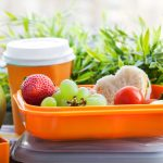 Eco friendly lunch ideas in reusable containers
