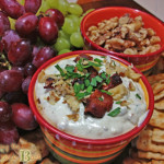 easy appetizer recipe blue cheese and bacon dip
