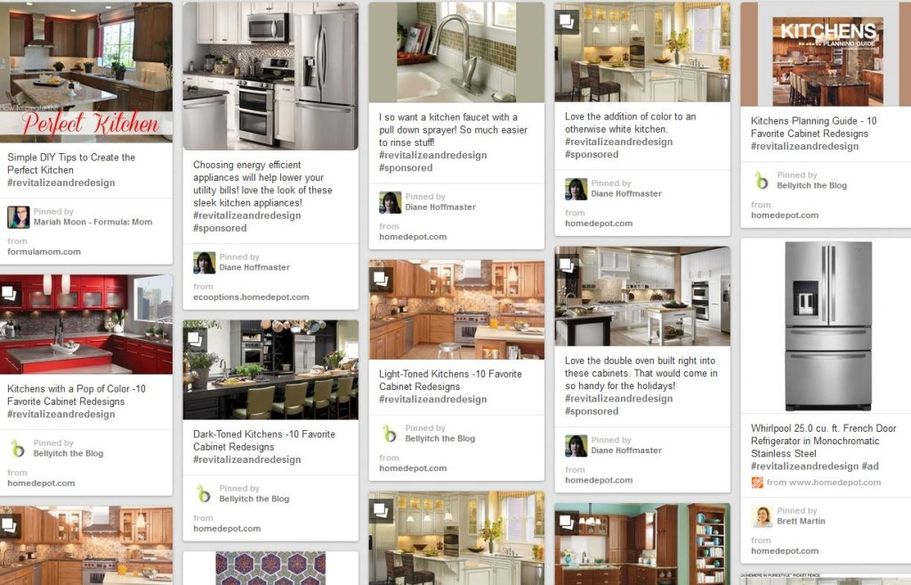 pinterest board for dream kitchen