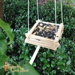 Easy DIY Wooden Bird Feeder