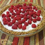 Raspberry Yogurt Pie Recipe with Granola Crust