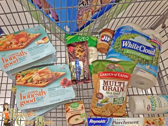 shopping for a healthy lunch at walmart #shop
