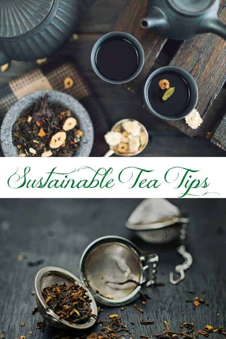 Do you love tea?  Check out these creative uses for used tea bags.  Then, try out a few of these other sustainable tea tips for a smaller carbon footprint!