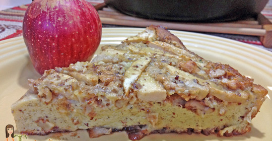 Need Apple Recipes?  Try this German Apple Pancake!