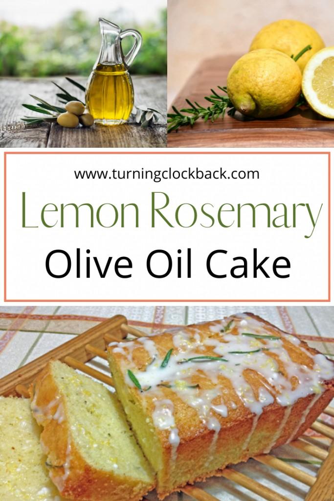 Lemon Rosemary Olive Oil Cake Recipe