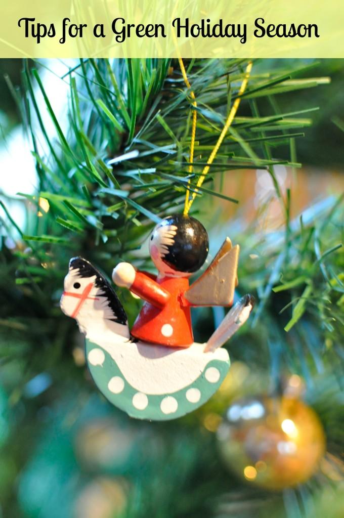 tips for a green holiday season
