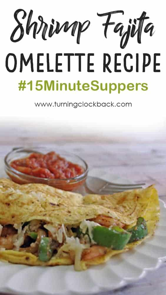 Shrimp Fajita Omelette Recipe