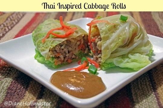 easy dinner recipe 2 Cabbage Rolls