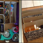 Eco Friendly Drawer Organizing Ideas