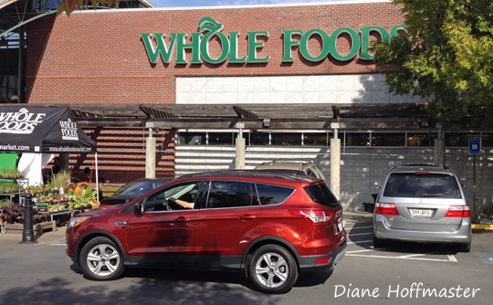 ford escape at whole foods