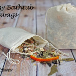 DIY Natural Bath Products: Bathtub Teabags