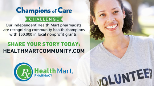 Healthy Community Support with the Champions of Care Challenge!  #HealthMartCares #ad