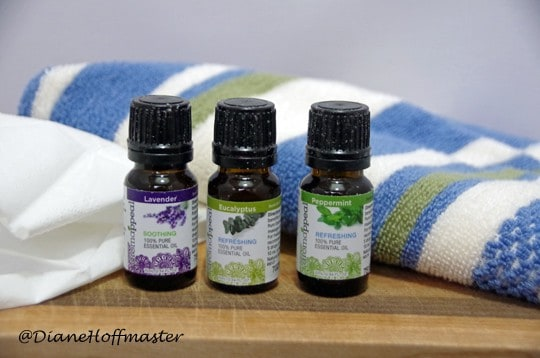 homemade vapor rub and aromatherapy for colds