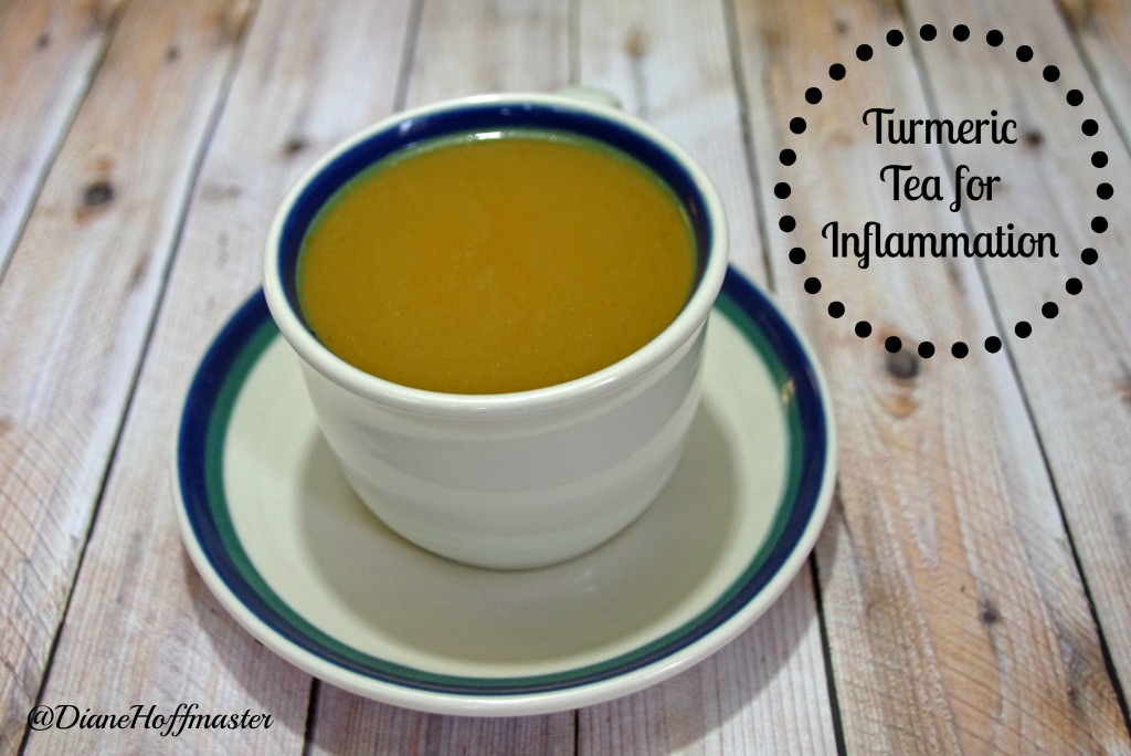 Healthy Turmeric Tea Recipe for Inflammation