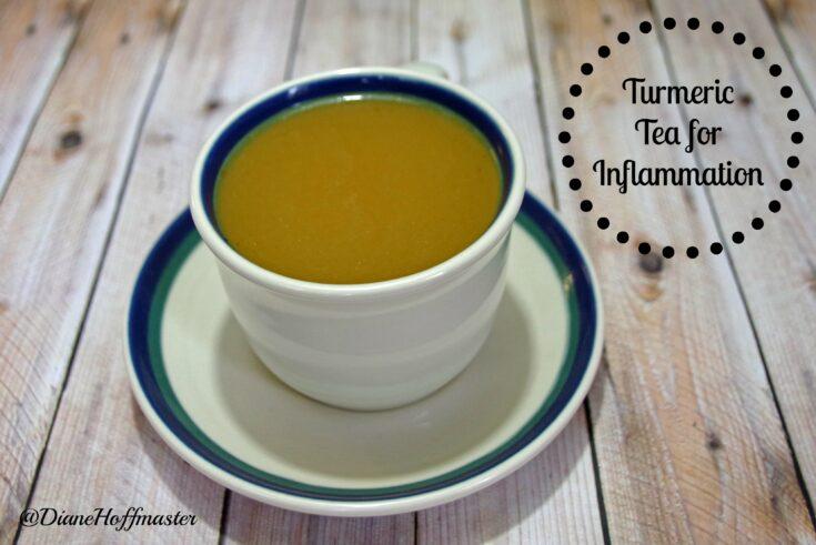 Healthy Turmeric Tea Recipe for Inflammation