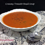Creamy Tomato Soup with Basil