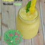A Taste of Summer with a Pineapple Breeze Mocktail Recipe #Outshine