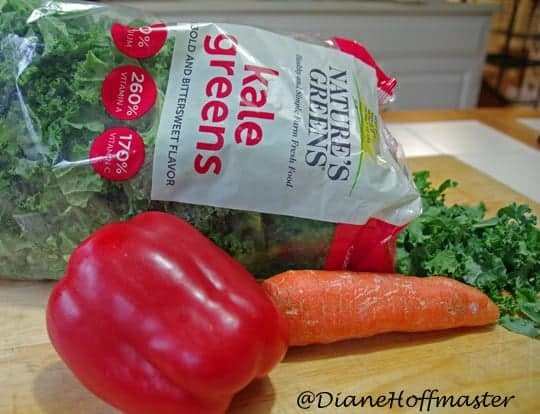 sausage and easy kale recipe