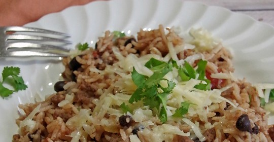 Black Beans and Rice with Sausage Recipe