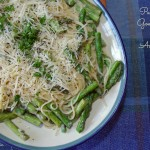 Pasta with Goat Cheese and Asparagus Recipe