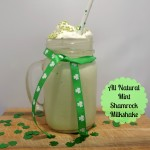All Natural Mint Shamrock Milkshake Recipe