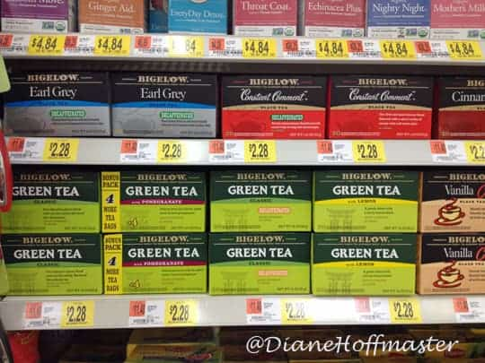Bigelow Tea at Walmart #AmericasTea #shop