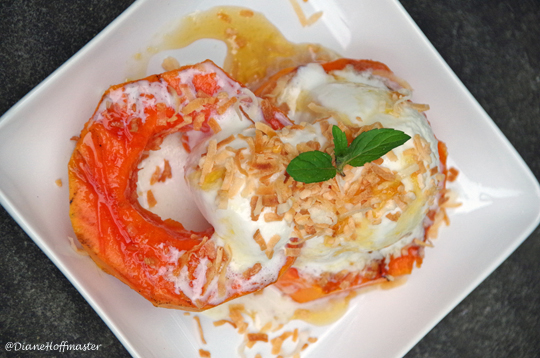 Easy Grilled Papaya Dessert Recipe